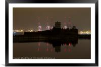 Fort Perch Rock , Framed Mounted Print