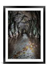 Entrance to Cathedral Cavern, Framed Mounted Print