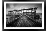 Dunston Staithes , Framed Mounted Print