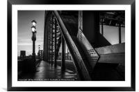 Tyne Bridge, Framed Mounted Print