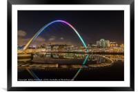 Millennium Bridge , Framed Mounted Print