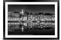Newcastle Quayside , Framed Mounted Print