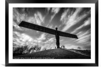Angel of the North , Framed Mounted Print