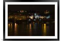 Prague , Framed Mounted Print