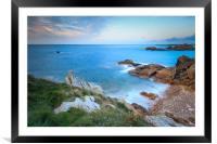 Guernsey Sunset , Framed Mounted Print