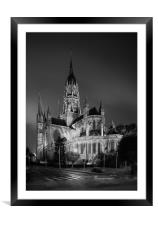 BAYEUX CATHEDRAL,FRANCE, Framed Mounted Print