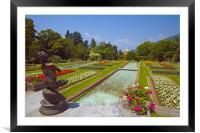 Villa Taranto Gardens,Lake Maggiore,Italy, Framed Mounted Print