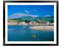 RIBADESELLA, ASTURIAS ,SPAIN., Framed Mounted Print