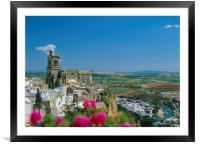 ARCOS DE LA FRONTERA,SPAIN., Framed Mounted Print