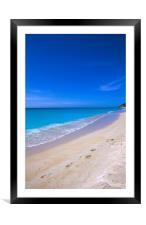 Antigua , Caribbean , Framed Mounted Print