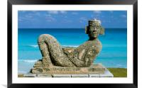 MEXICO.CANCUN, Framed Mounted Print