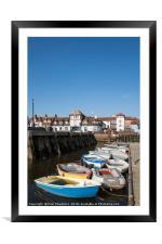 Lymington Quay, Framed Mounted Print