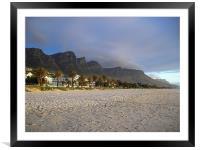 Twelve Apostle Campsbay Cape Town, Framed Mounted Print