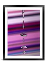 Rainbow Water, Framed Mounted Print