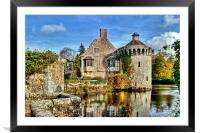 Scotney Castle, Framed Mounted Print