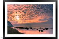 Cloud Illumination, Framed Mounted Print