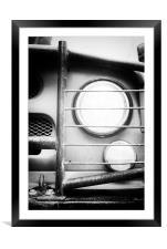 Eye Eye Comrade Lamp, Framed Mounted Print