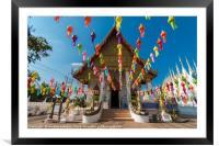 Wat Phong Sunan, Framed Mounted Print