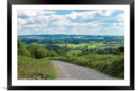 The Great British Countryside #1, Framed Mounted Print