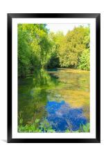 Silent Pool, Framed Mounted Print