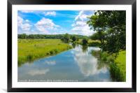 Waterways of England, Framed Mounted Print