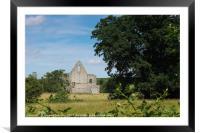 Newark Priory, Framed Mounted Print
