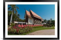 Wat Sala Loi, Framed Mounted Print