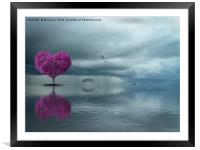 Lonely Heart, Framed Mounted Print