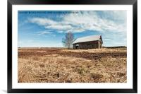 Springtime In The Fields, Framed Mounted Print