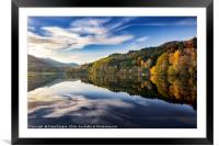 Loch Tummel - Perthshire, Scotland, Framed Mounted Print