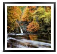 The Hermitage, Framed Mounted Print