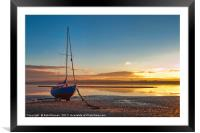 Outgoing Tide, Framed Mounted Print