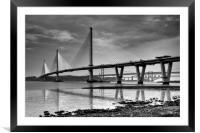 The Bridges, Framed Mounted Print