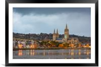 Sunday morning cathedral., Framed Mounted Print