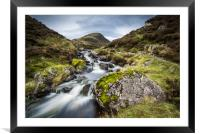 Outflow from Loch Skeen on Tail Burn, Framed Mounted Print