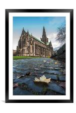 Glasgow Cathedral Cobbles, Framed Mounted Print