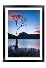 Sunrise at Buttermere, Framed Mounted Print