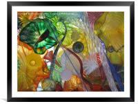 Art Glass - Underwater 12, Framed Mounted Print