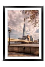 The Shard #7, Framed Mounted Print