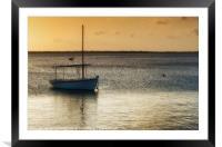 Dream Boat, Framed Mounted Print