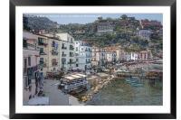 Sorrento, Italy, Framed Mounted Print