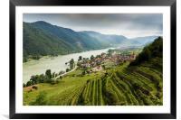 Weissenkirchen. Wachau. Austria., Framed Mounted Print
