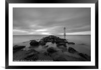Fort Perch Rock, Lighthouse, New Brighton, Wirral,, Framed Mounted Print