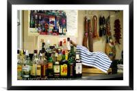 Spanish bar, Framed Mounted Print