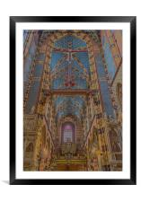 St. Mary's Basilica., Framed Mounted Print