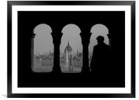 View of Parliament., Framed Mounted Print