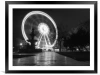 Budapest Eye. , Framed Mounted Print