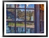 Old Curiosity Shop., Framed Mounted Print