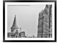 Fisherman's Bastion., Framed Mounted Print