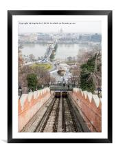 Funicular., Framed Mounted Print